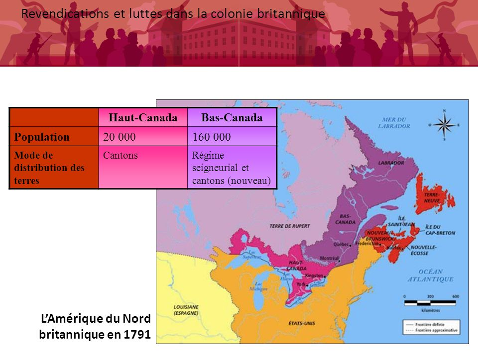 Revendications et luttes dans la colonie britannique