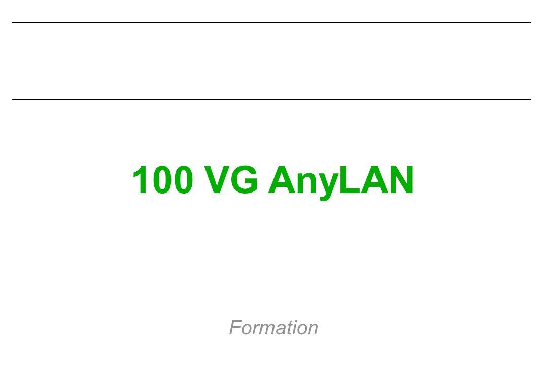 100 VG AnyLAN Formation