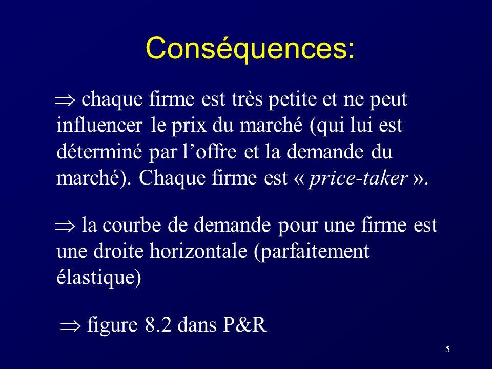 Conséquences: