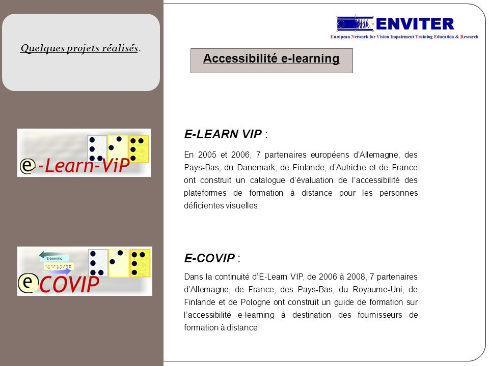 Accessibilité e-learning