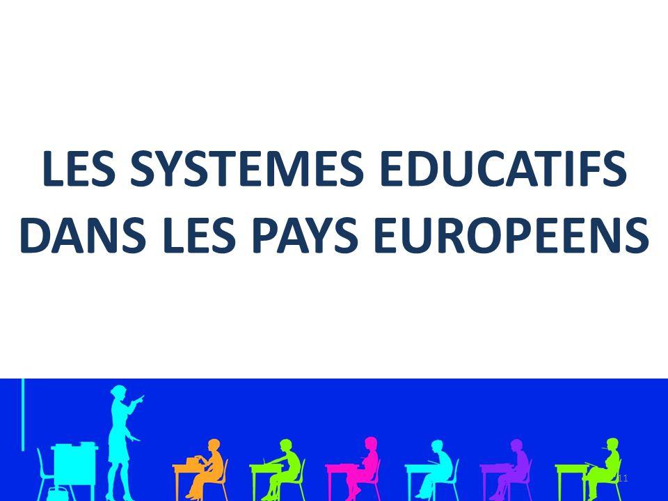 LES SYSTEMES EDUCATIFS DANS LES PAYS EUROPEENS