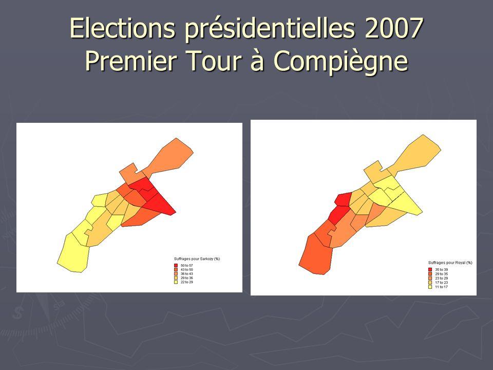 Elections présidentielles 2007 Premier Tour à Compiègne