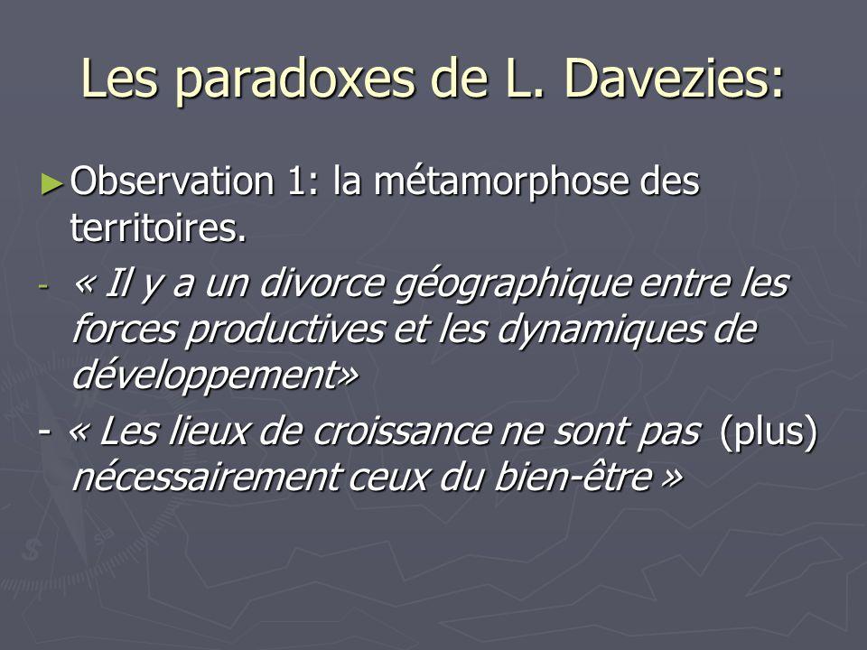 Les paradoxes de L. Davezies: