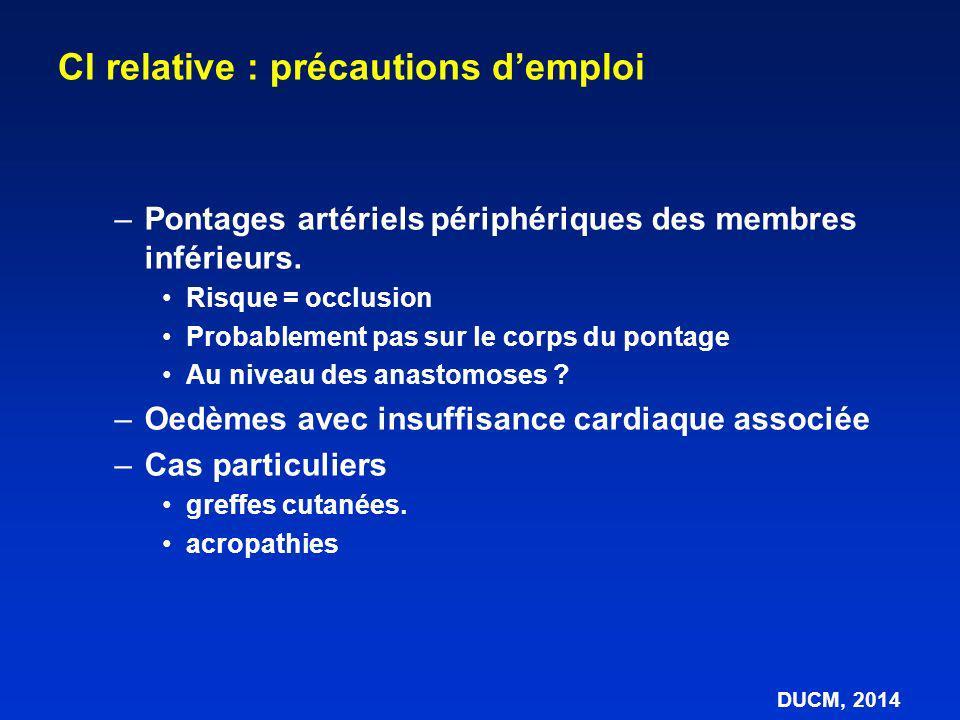 CI relative : précautions d'emploi