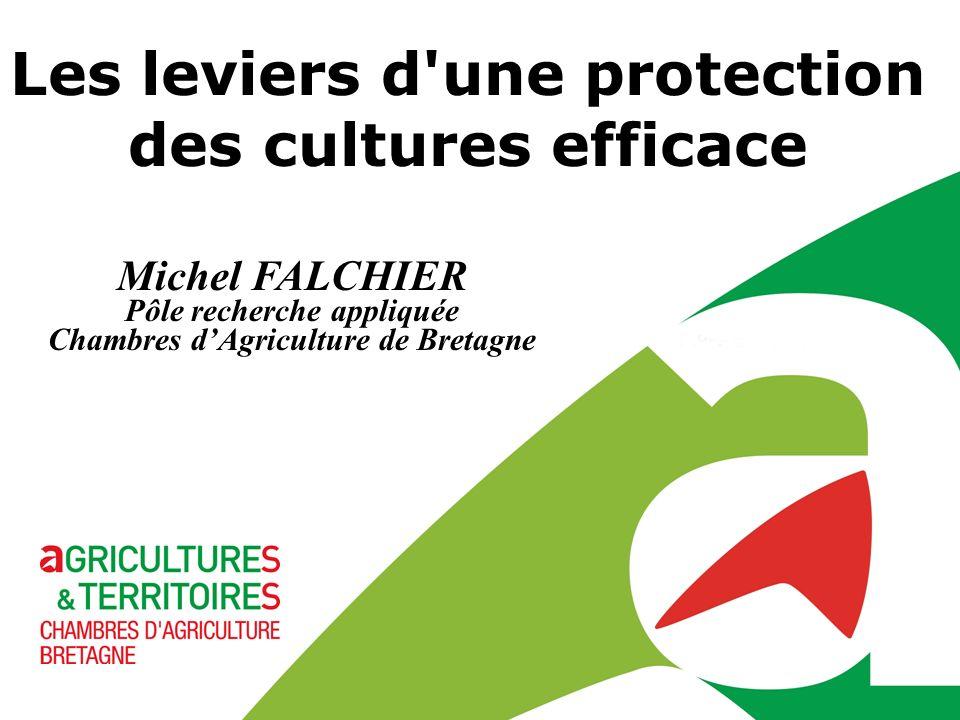 Les leviers d une protection des cultures efficace