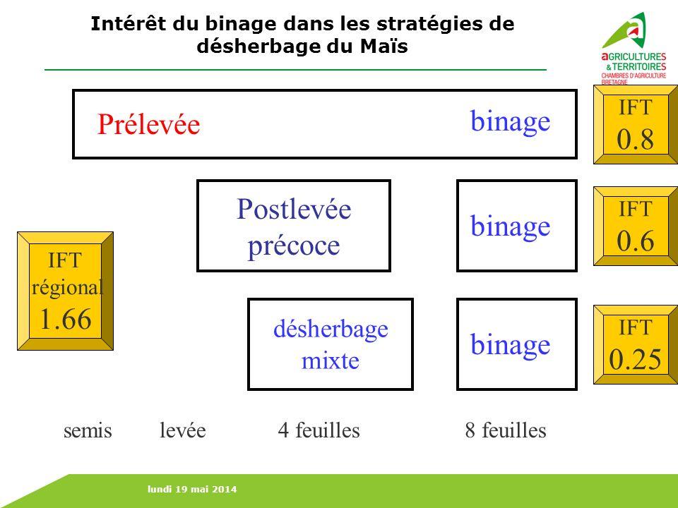 Intérêt du binage dans les stratégies de désherbage du Maïs