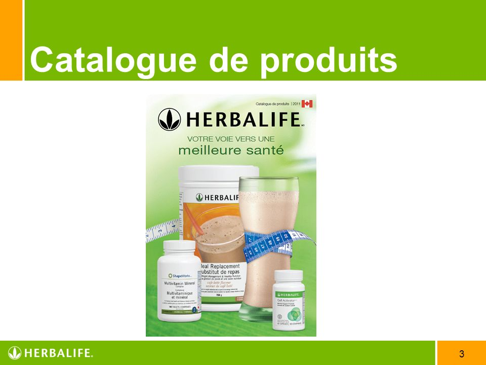 Catalogue de produits Employee Meeting - 2007 3/31/2017