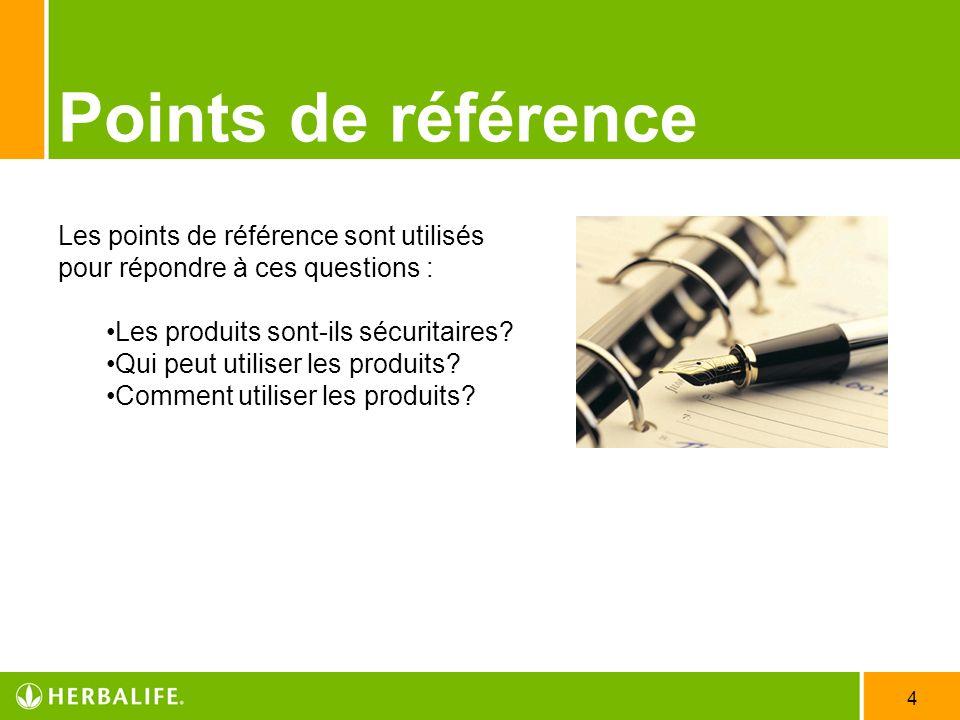 Employee Meeting - 2007 3/31/2017. Points de référence. Les points de référence sont utilisés pour répondre à ces questions :