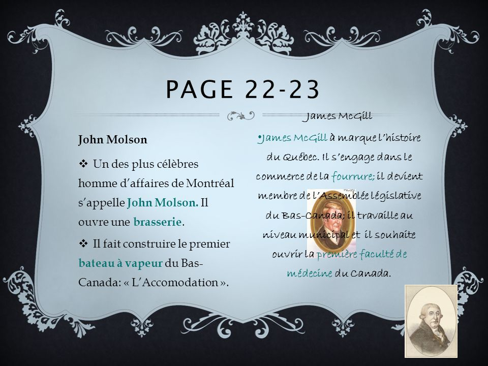 Page 22-23 James McGill.