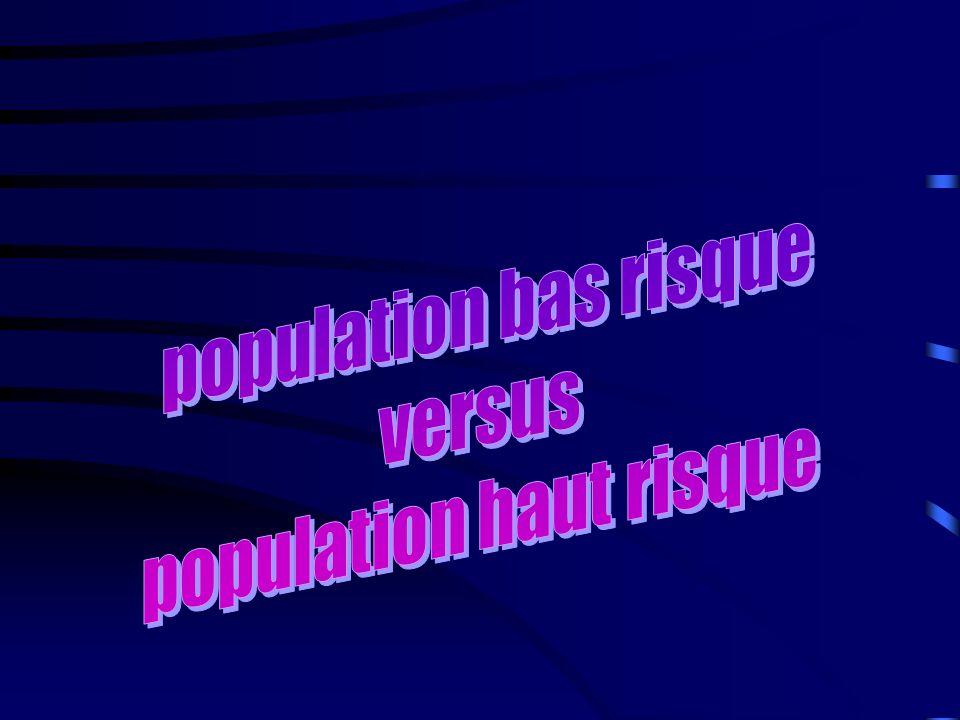 population haut risque