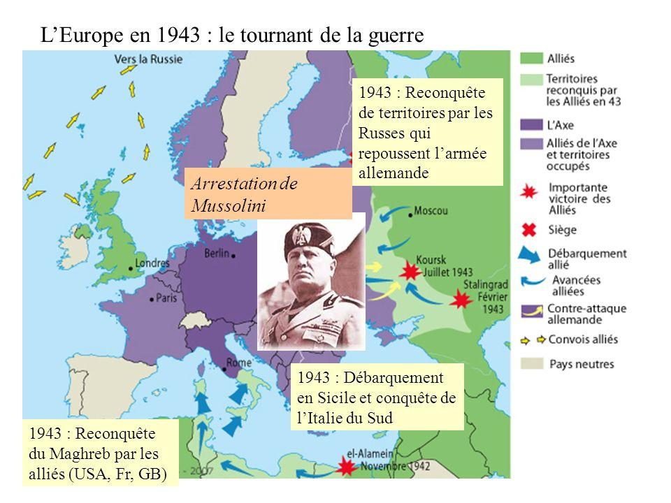 L'Europe en 1943 : le tournant de la guerre