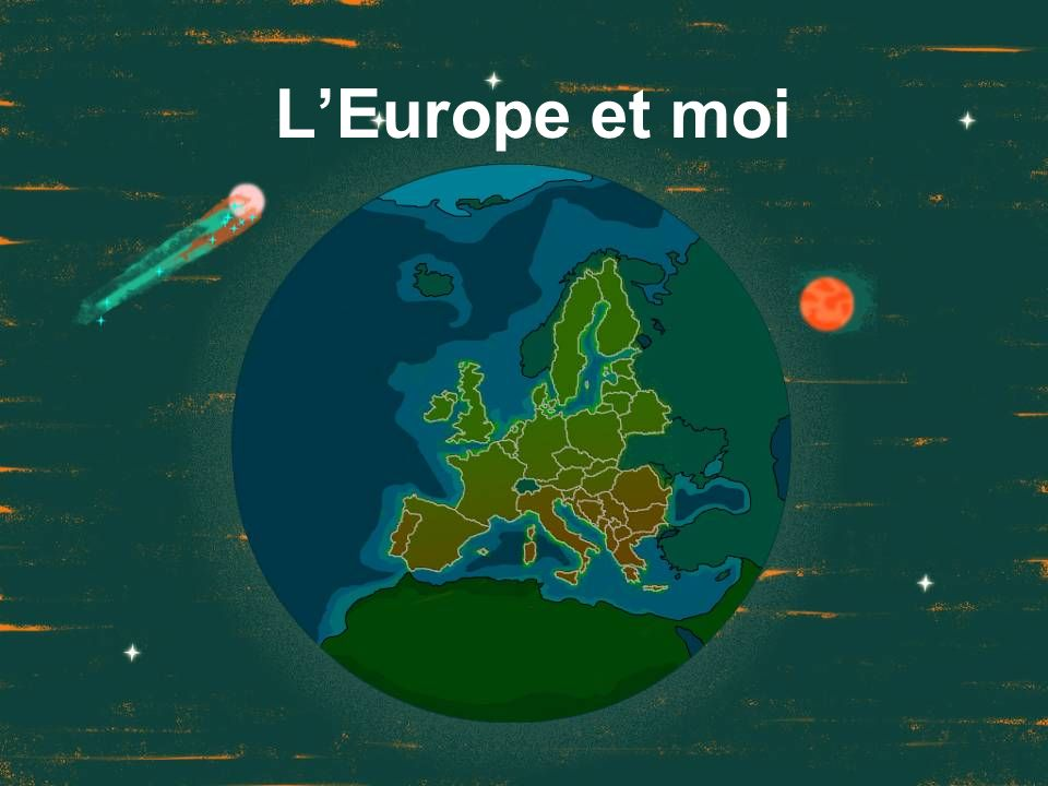 L'Europe et moi