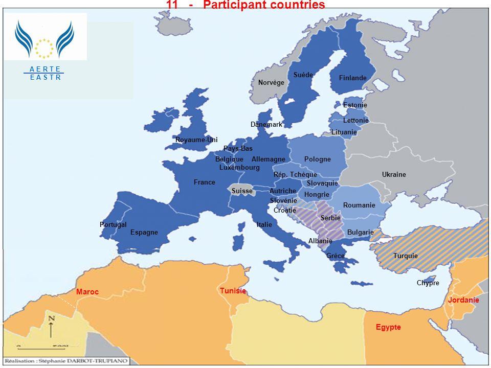 11 - Participant countries