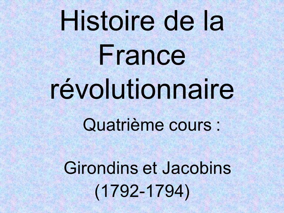 Histoire de la France révolutionnaire