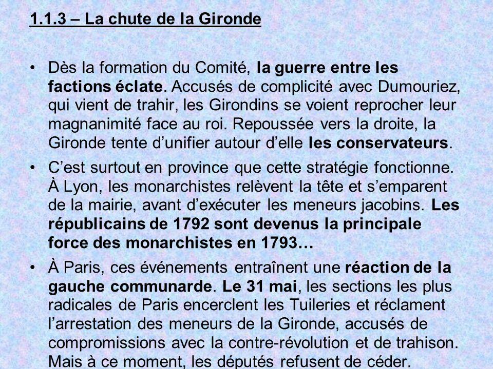 1.1.3 – La chute de la Gironde
