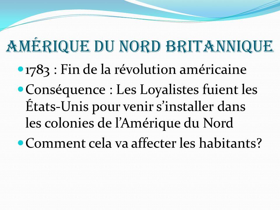 Amérique du nord britannique