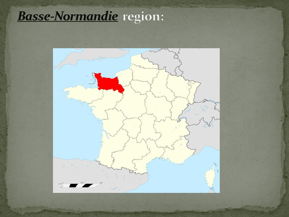 Basse-Normandie region: