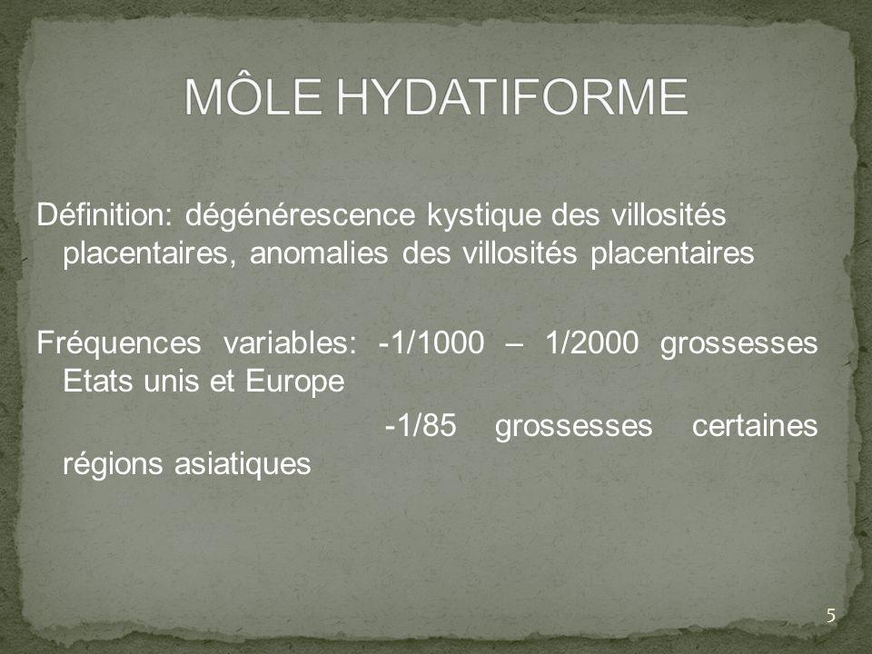 MÔLE HYDATIFORME
