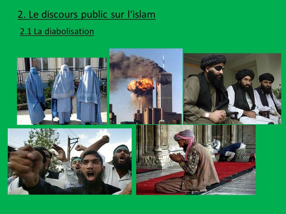 2. Le discours public sur l'islam