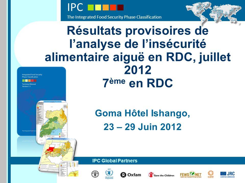 Goma Hôtel Ishango, 23 – 29 Juin 2012