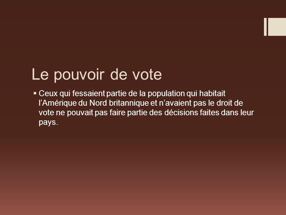 Le pouvoir de vote