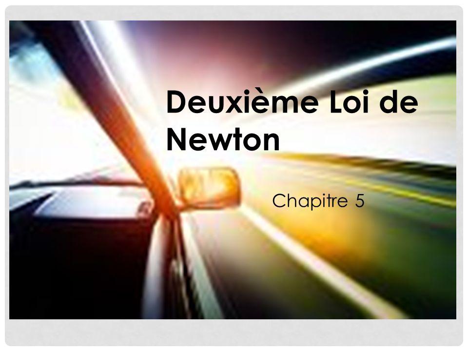 Deuxième Loi de Newton Chapitre 5