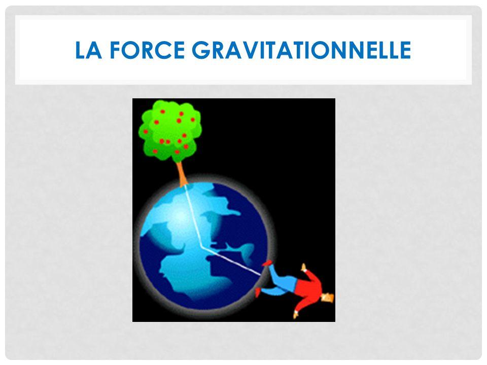 La force gravitationnelle