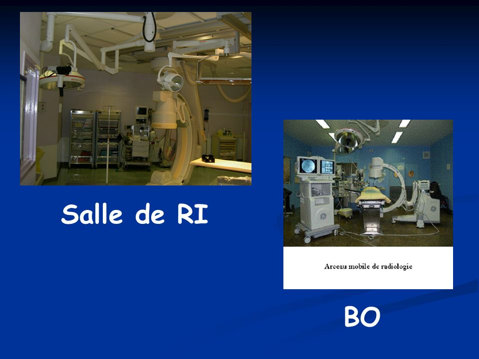 Salle de RI BO