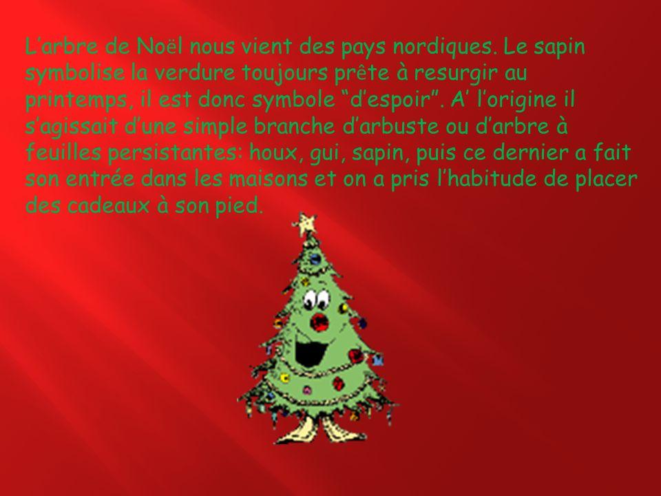 L'arbre de Noël nous vient des pays nordiques
