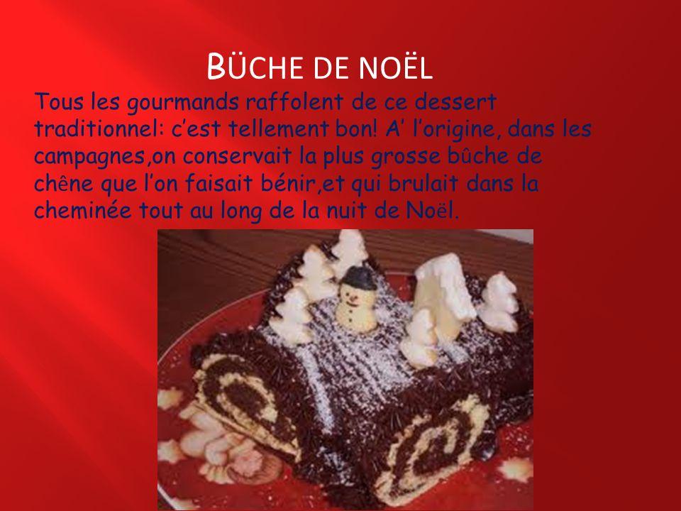 BÜCHE DE NOËL