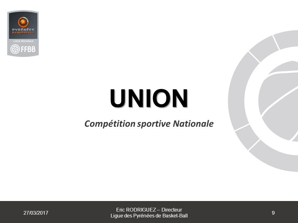 Compétition sportive Nationale