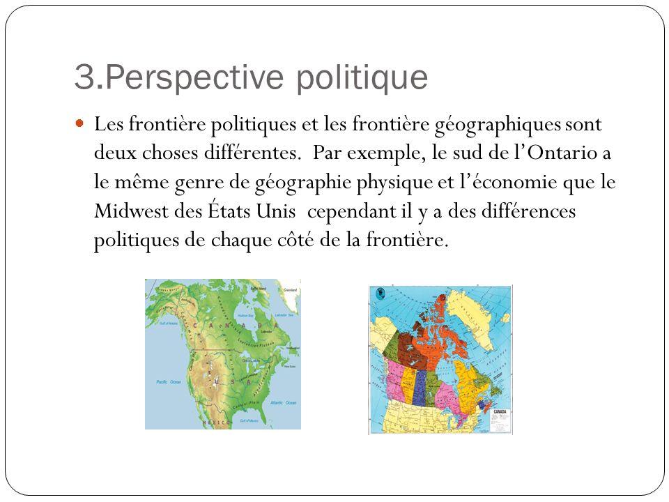 3.Perspective politique