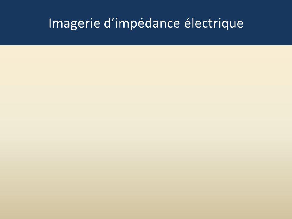 Imagerie d'impédance électrique
