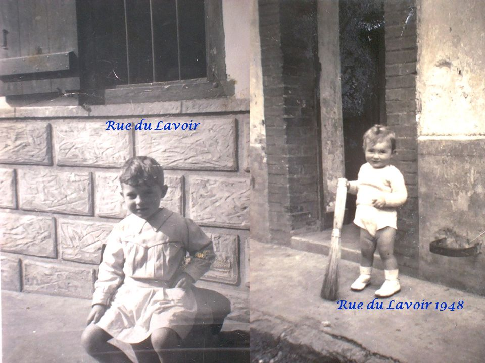 Rue du Lavoir Rue du Lavoir 1948