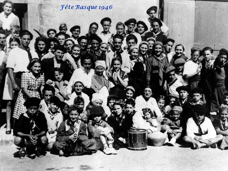 Fête Basque 1946