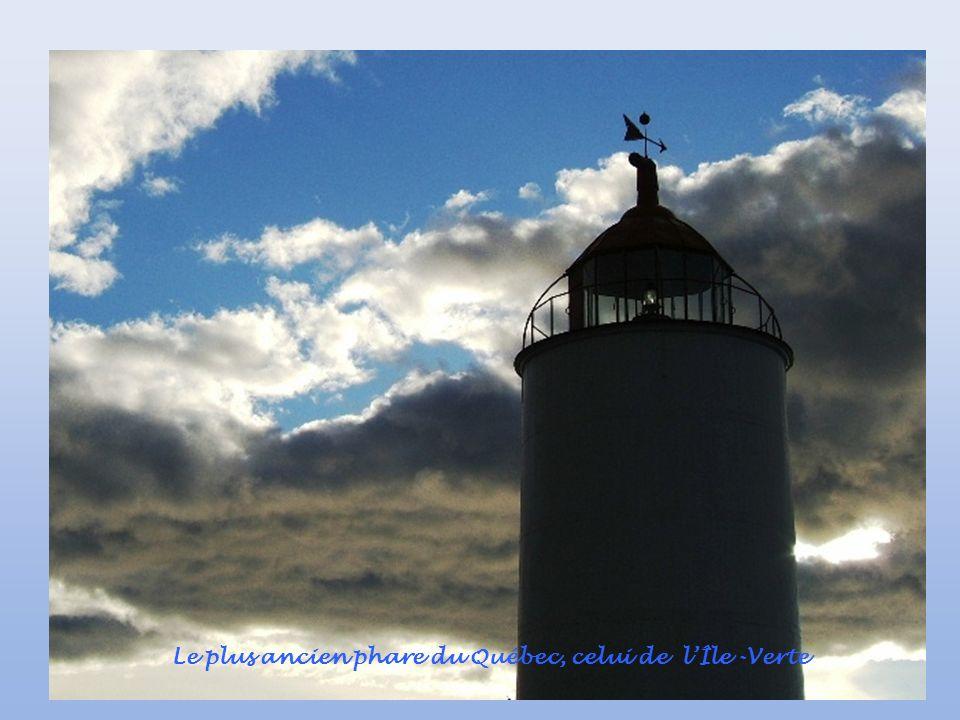 Le plus ancien phare du Québec, celui de l'Île -Verte