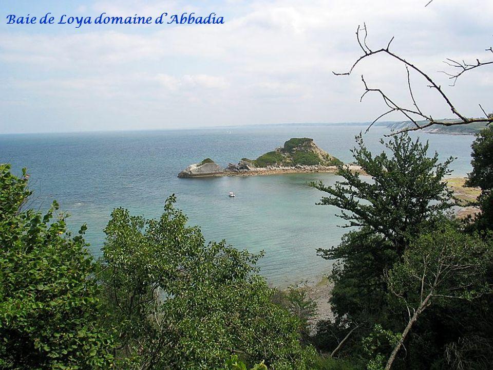 Baie de Loya domaine d'Abbadia
