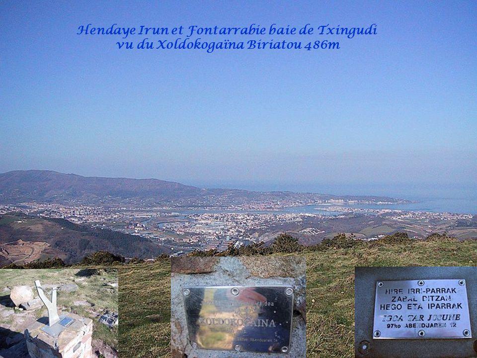 Hendaye Irun et Fontarrabie baie de Txingudi