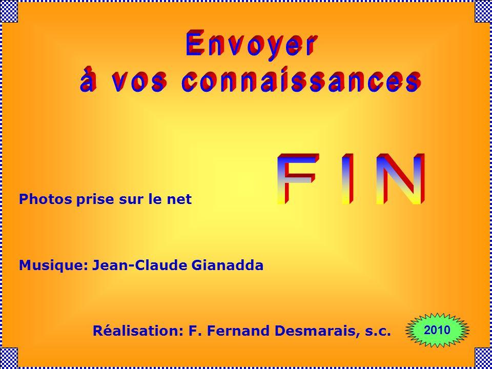 Envoyer à vos connaissances FIN Photos prise sur le net