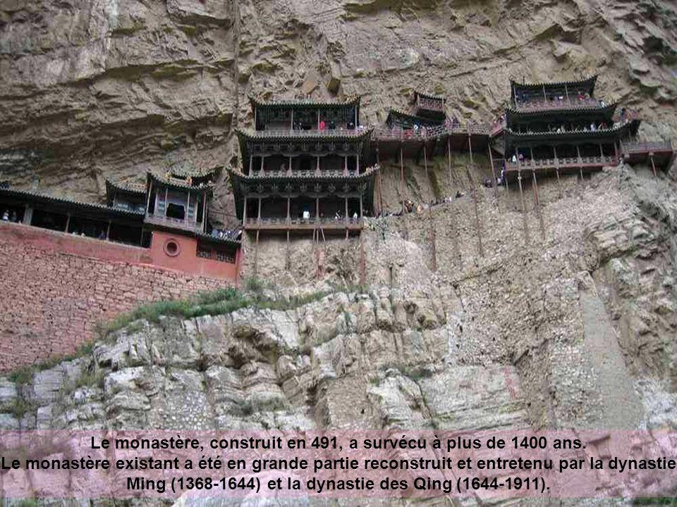 Le monastère, construit en 491, a survécu à plus de 1400 ans