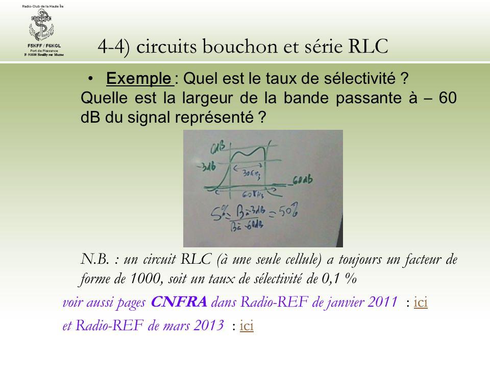 4-4) circuits bouchon et série RLC