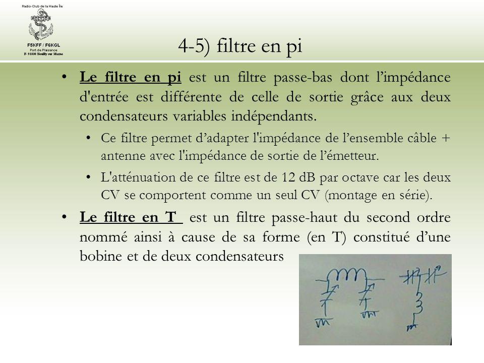 4-5) filtre en pi