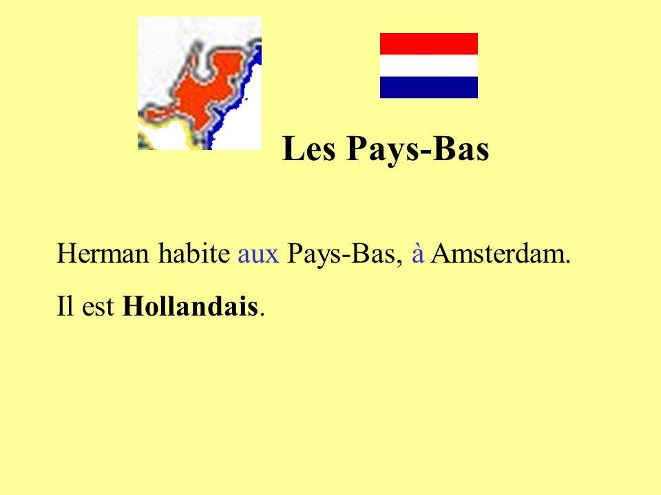 Les Pays-Bas Herman habite aux Pays-Bas, à Amsterdam.