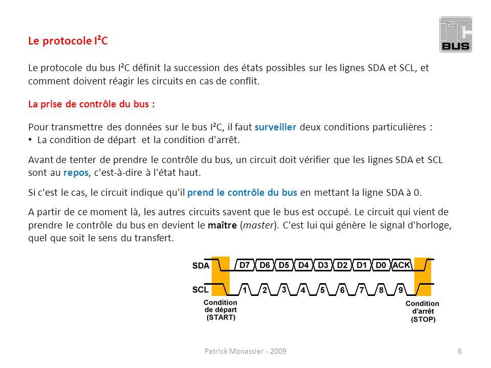 Le protocole I²C