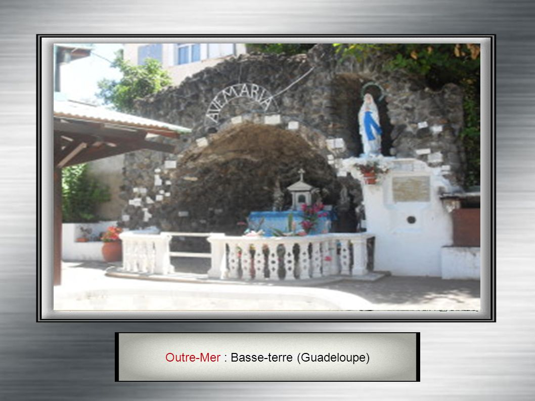 Outre-Mer : Basse-terre (Guadeloupe)