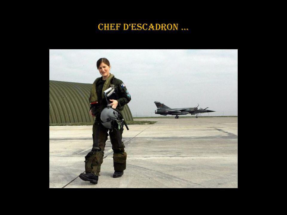 Chef d'escadron …