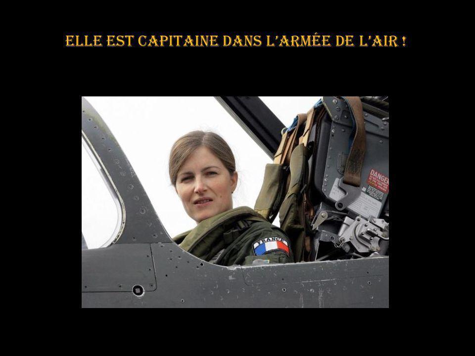 elle est capitaine dans l'armée de l'air !