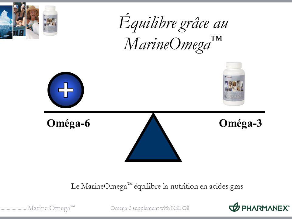 Équilibre grâce au MarineOmega™