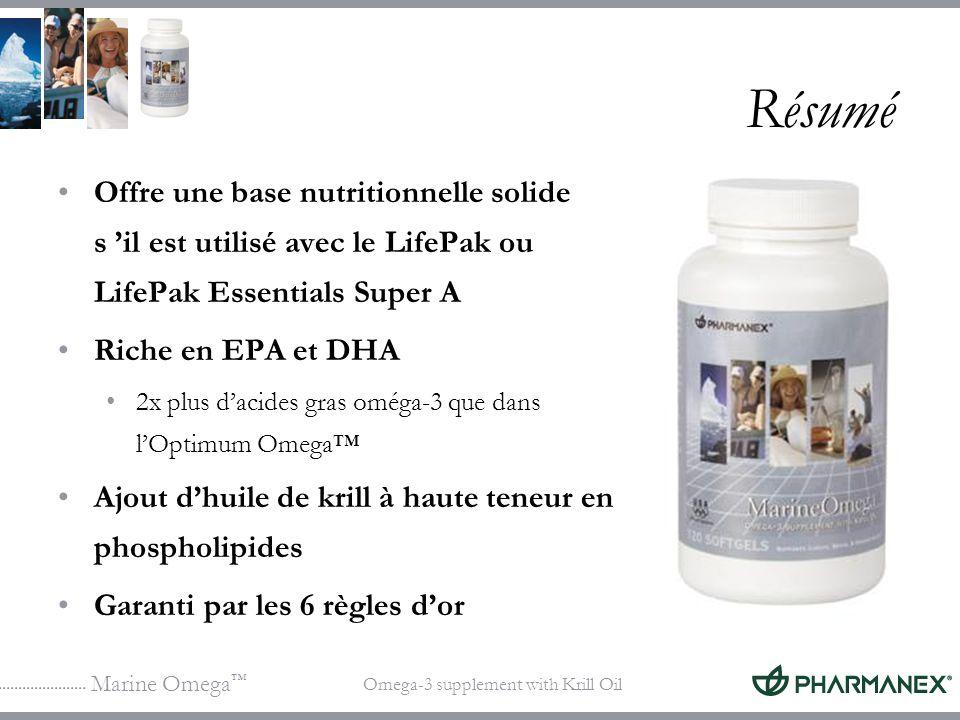 Résumé Offre une base nutritionnelle solide s 'il est utilisé avec le LifePak ou LifePak Essentials Super A.