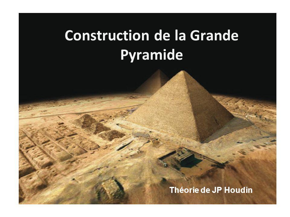 Construction de la Grande Pyramide